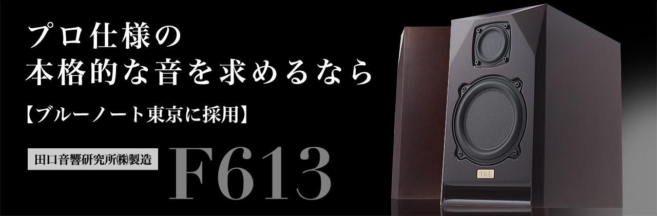 プロ仕様の本格的な音を求めるなら【ブルーノート東京に採用】田口音響研究所(株)製造 F613