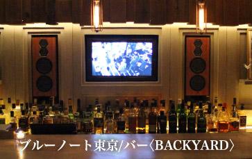 ブルーノート東京/バー〈BACKYARD〉