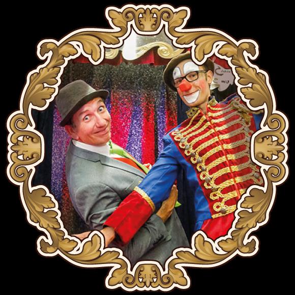 Die Clownsshow auf dem Jahrmarkt der Wunder Salasas