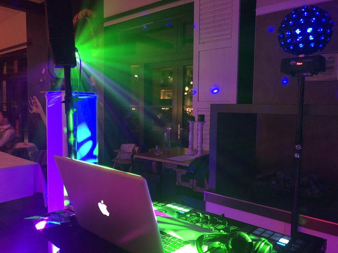 Beleuchtung vom DJ bei Parchim