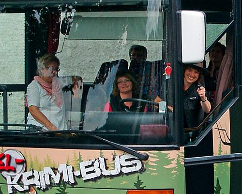 Eifel Krimiwochenende mit Tatort-Tour im KRIMIBUS