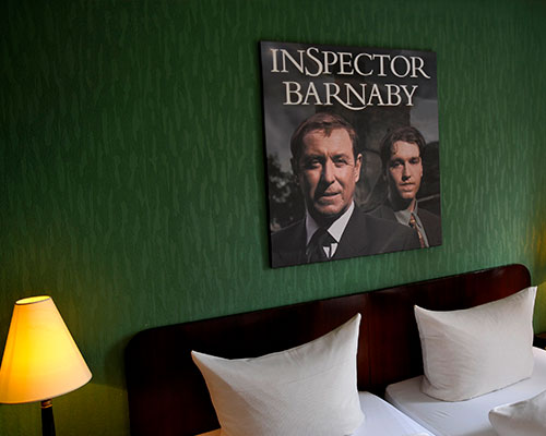 Krimihotel Themenzimmer Inspector Barnaby