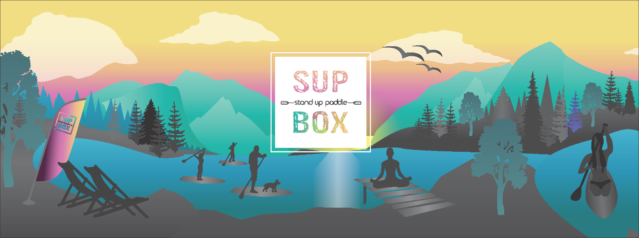SUP Box am Fuschlsee Stand up Paddle Verleih