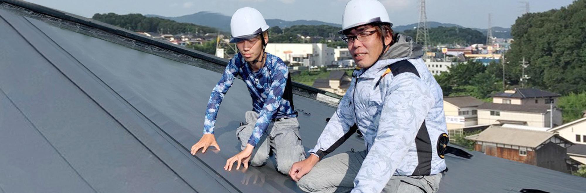 災害に強い雨どい工事を提供する福井の山本工業です