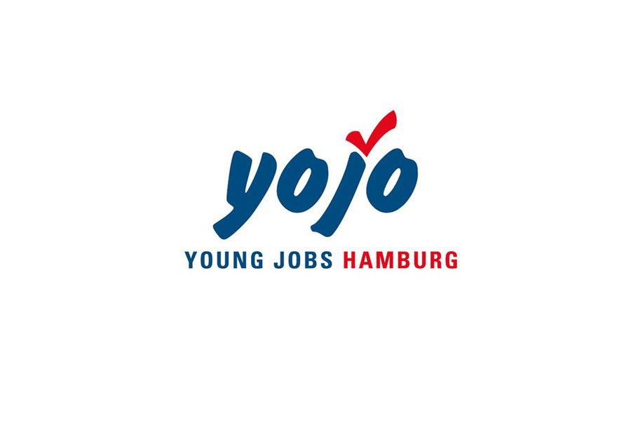 Logo: yojo, Young Jobs Hamburg