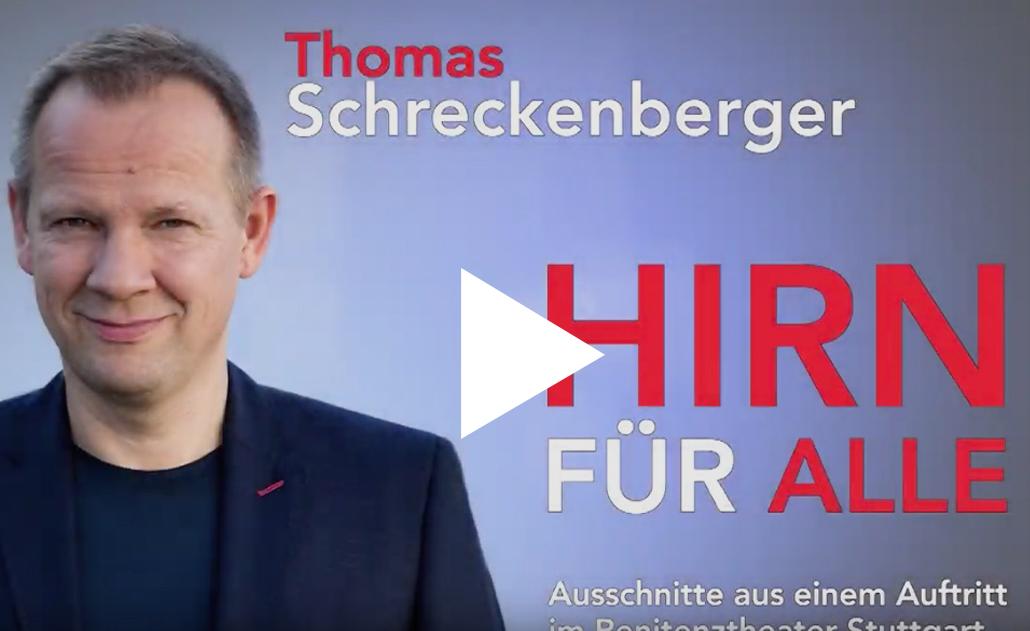 Thomas Schreckenberger - Hirn für alle - Ausschnitte