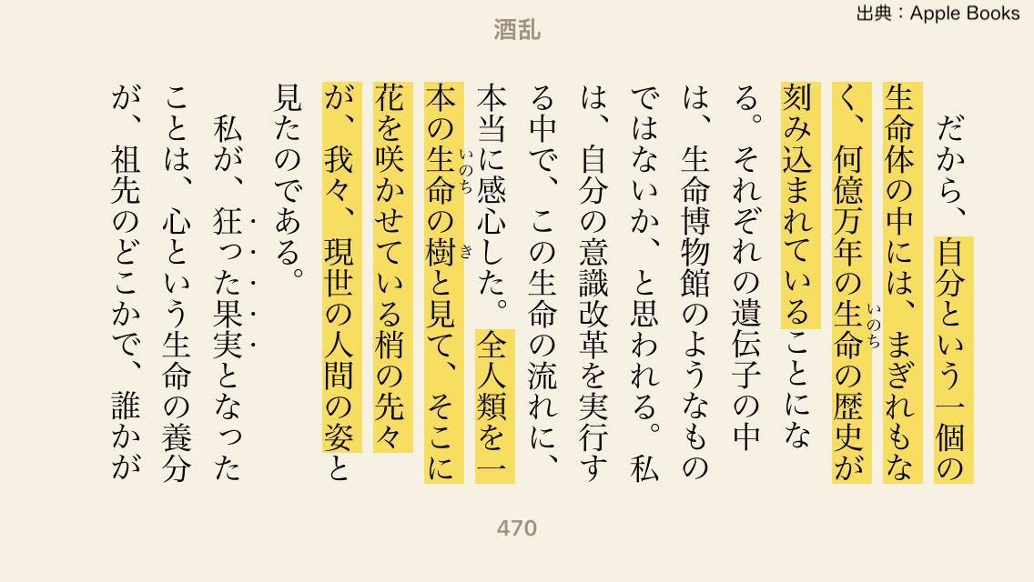 ここから書籍『酒乱こめのいのちが生きるまで』の抜粋。「だから、自分という一個の生命体の中には、まぎれもなく、何億万年のいのちの歴史が刻み込まれていることになる。それぞれの遺伝子の中には、生命博物館のようなものではないか、と思われる。私は、自分の意識改革を実行する中で、この生命の流れに、本当に感心した。全人類を一本のいのちの樹と見て、そこに花を咲かせている梢の先々が、我々、現世の人間の姿と見たのである。