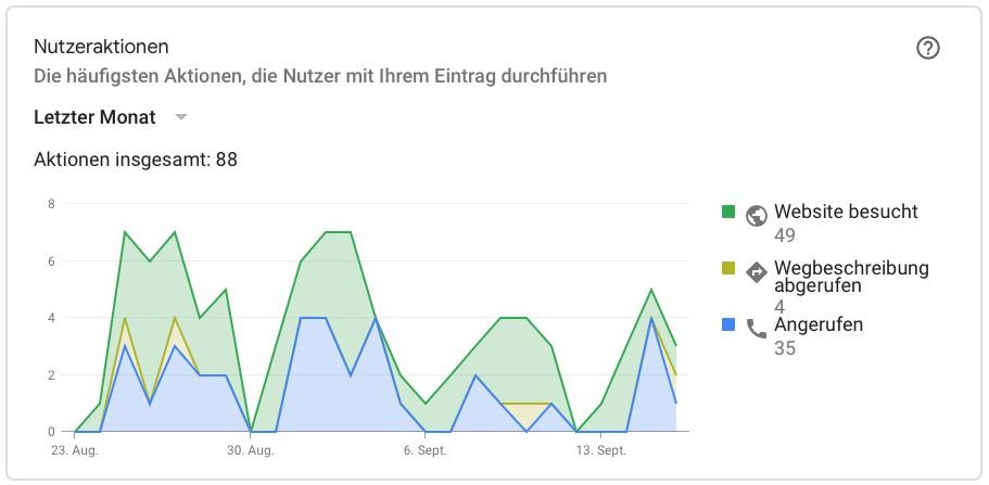 Google My Business Statistiken3