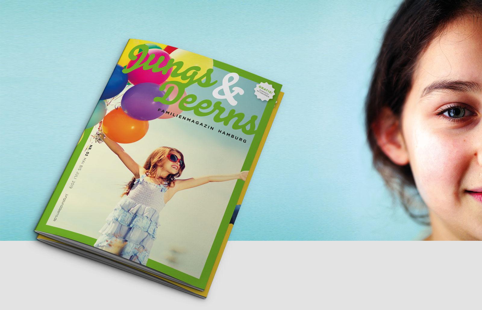 Jungs & Deerns Familienmagazin Hamburg