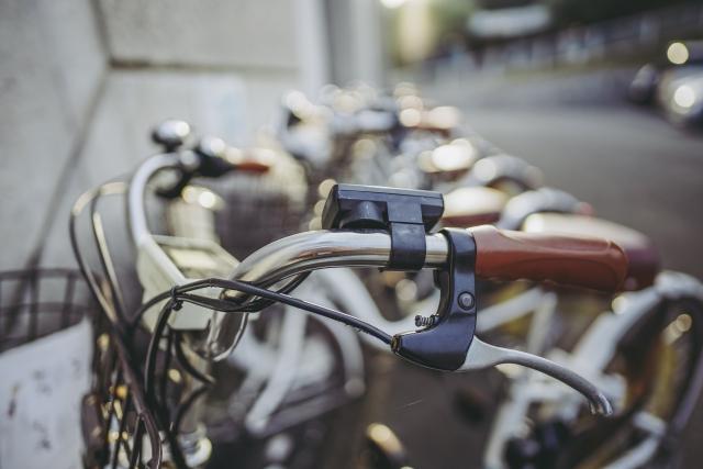 自転車でお越しの方