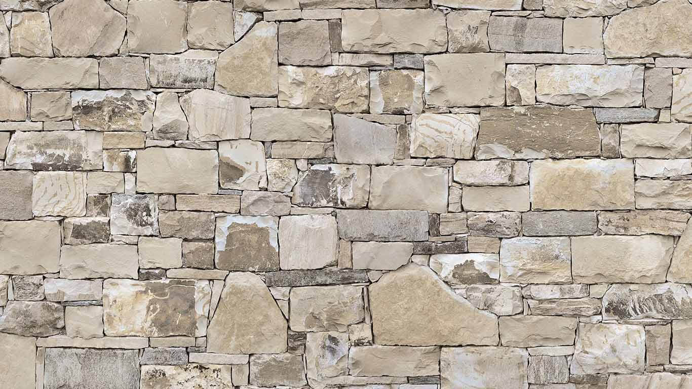 Küchenrückwand Steinwand