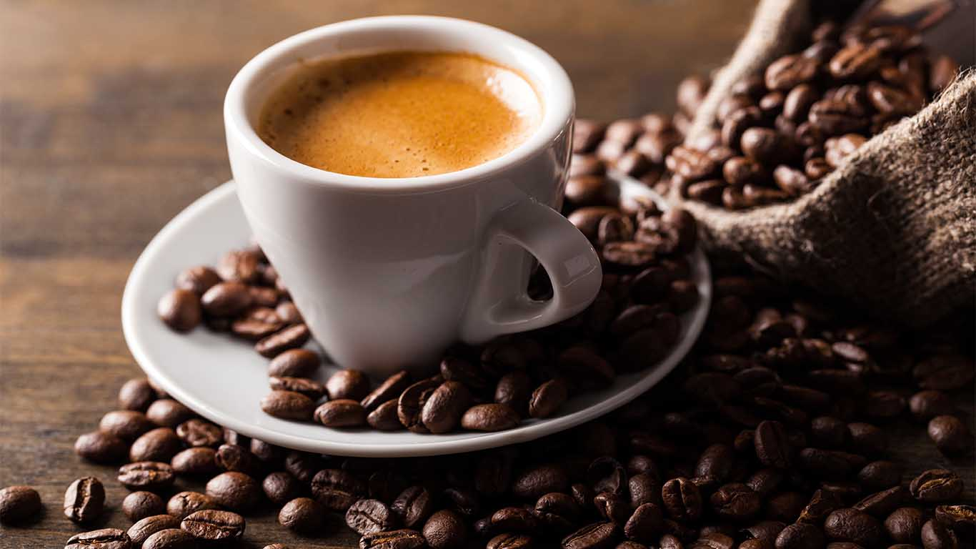 Spritzschutz Motiv Kaffeetasse