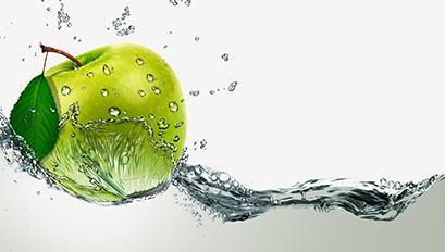 Küchenrückwand Motiv Apfel