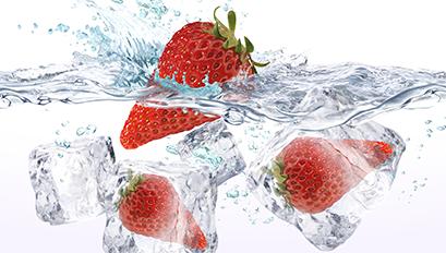 Spritzschutz Erdbeer