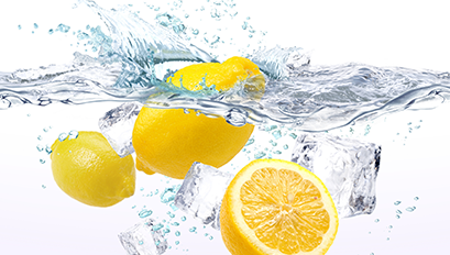 Küchenrückwand Motiv Zitrone
