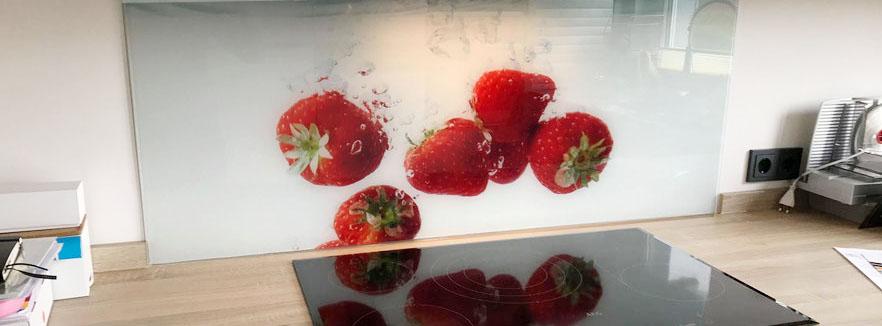 Glasrückwände & Glasbild selbst gestalten - glasposter.com