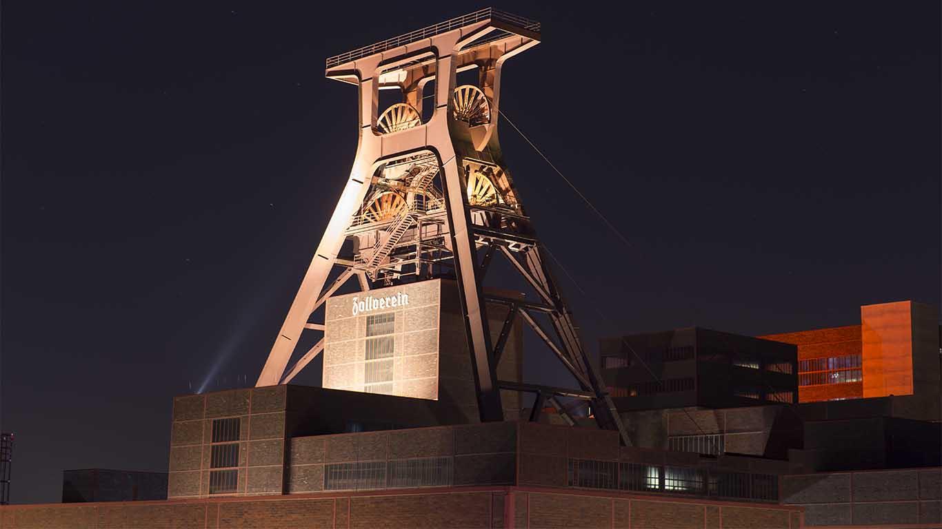 Spritzschutz Zeche Zollverein