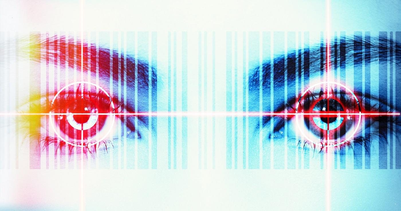 RLS GMBH Barcode mit Auge