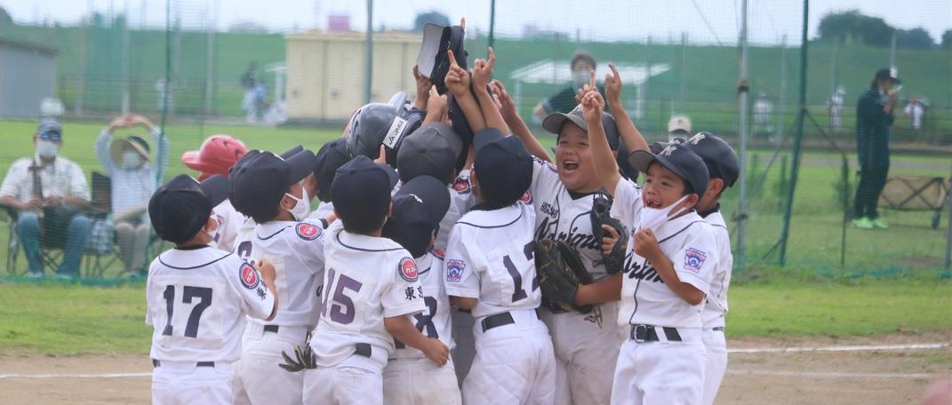 野球を通して家庭では体験できない社会生活を