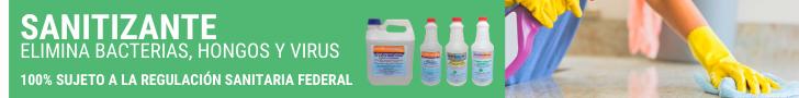 Venta de desinfectante de amplio espectro