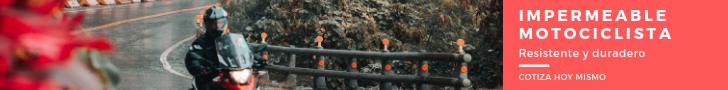 Venta de impermeables para motociclista