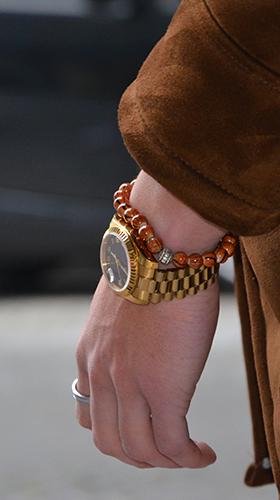 bracelet et montre homme