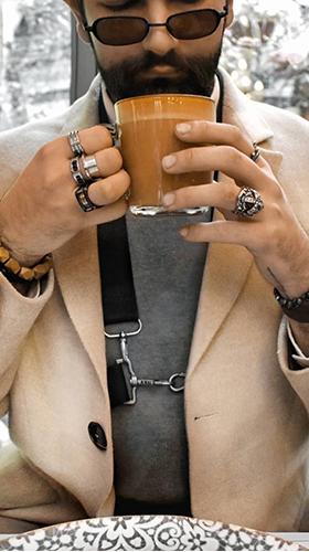 bracelet en perles homme