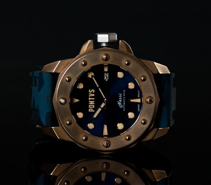 Pontvs Nessi Bronze Diver Watch