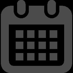 カレンダーのフリーアイコン