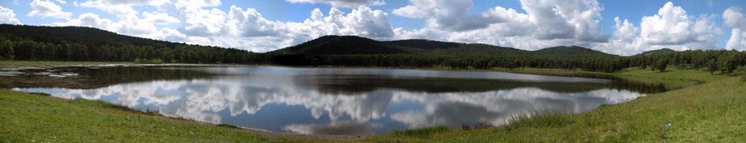 Озеро Заводское (Литвино), Хакасия