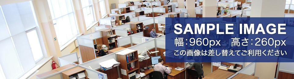 SAMPLE IMAGE この画像は差し替えてご利用ください