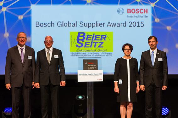 Beier und Seitz BOSCH Award 2015