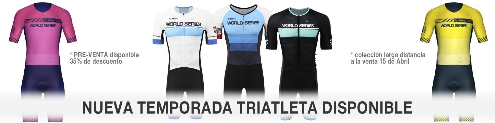 Tienda online y personalización para ciclistas, triatletas y runners