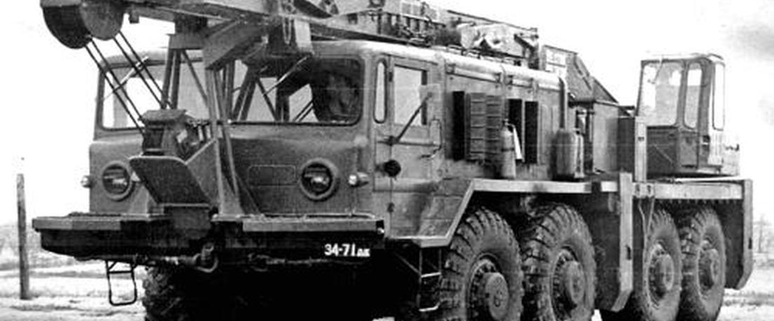 MAZ-537K Soviet Crane