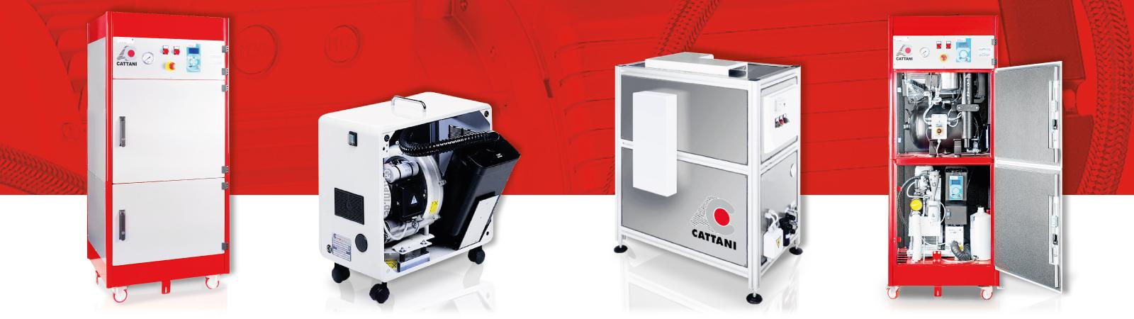 Cattani - Deutschland - Dentalkompressoren und Absauganlagen - Profil