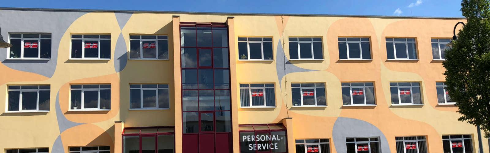 Firmengebäude der S&B Personalservice GmbH in Gotha