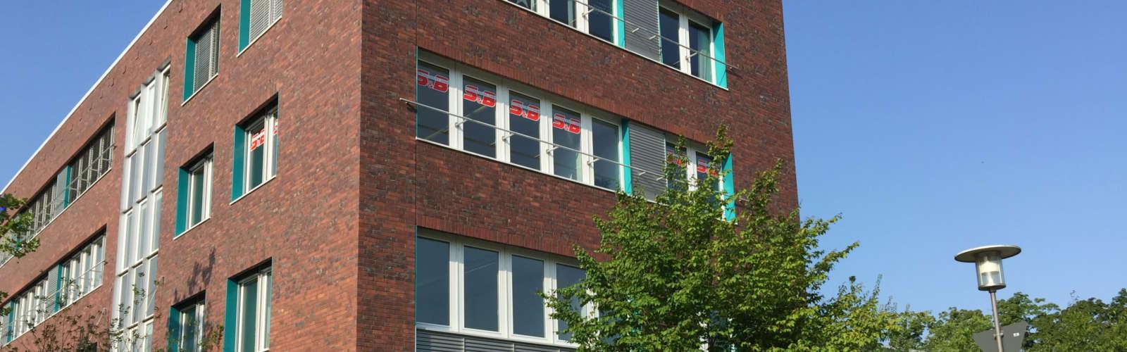 Firmengebäude der S&B Personalservice GmbH in Potsdam
