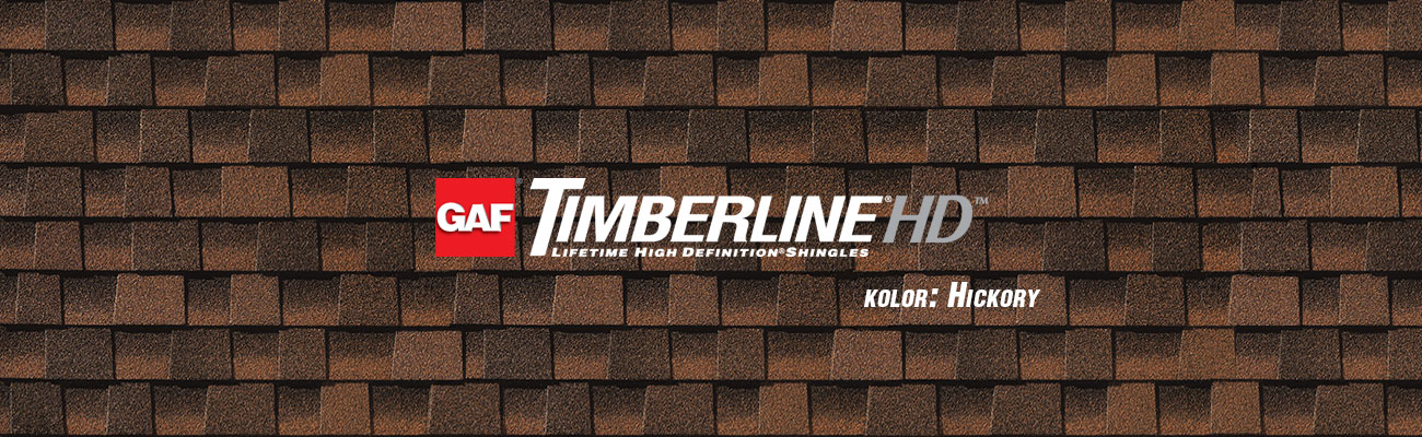 gont bitumiczny GAF Timberline HD w kolorze Hickory