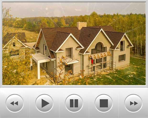 Kolejny film który przedstawia dom w stylu amerykańskim pokryty gontami Timberline HD w kolorze Hickory