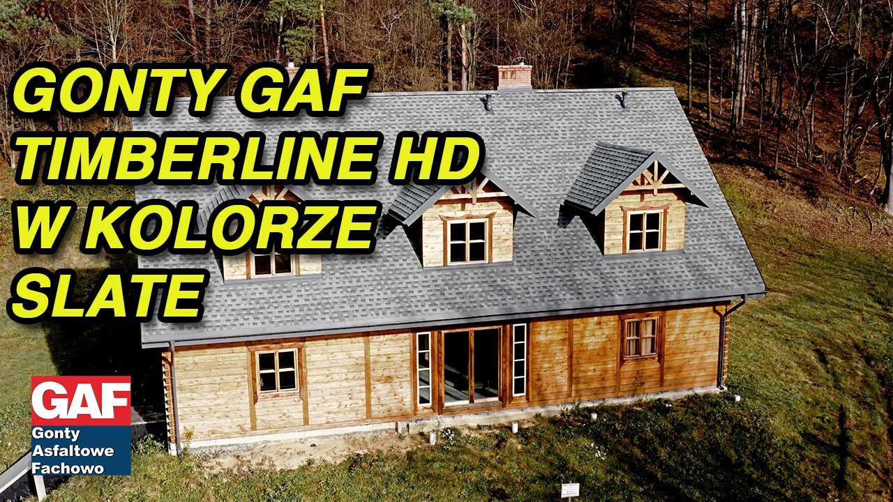 Gonty GAF Timberline HD są najbardziej popularnym i polecanym pokryciem dachowym w USA