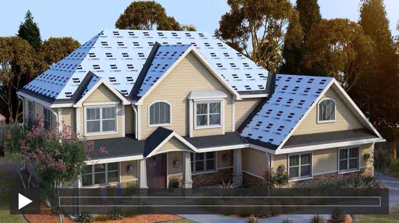 kompleksowy sytem dachowy gaf dedykowany amerykańskim gontom bitumicznym