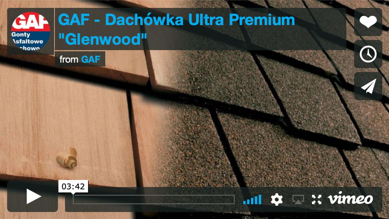 Dachy pokryte gontem GAF Timberline® Ultra HD™