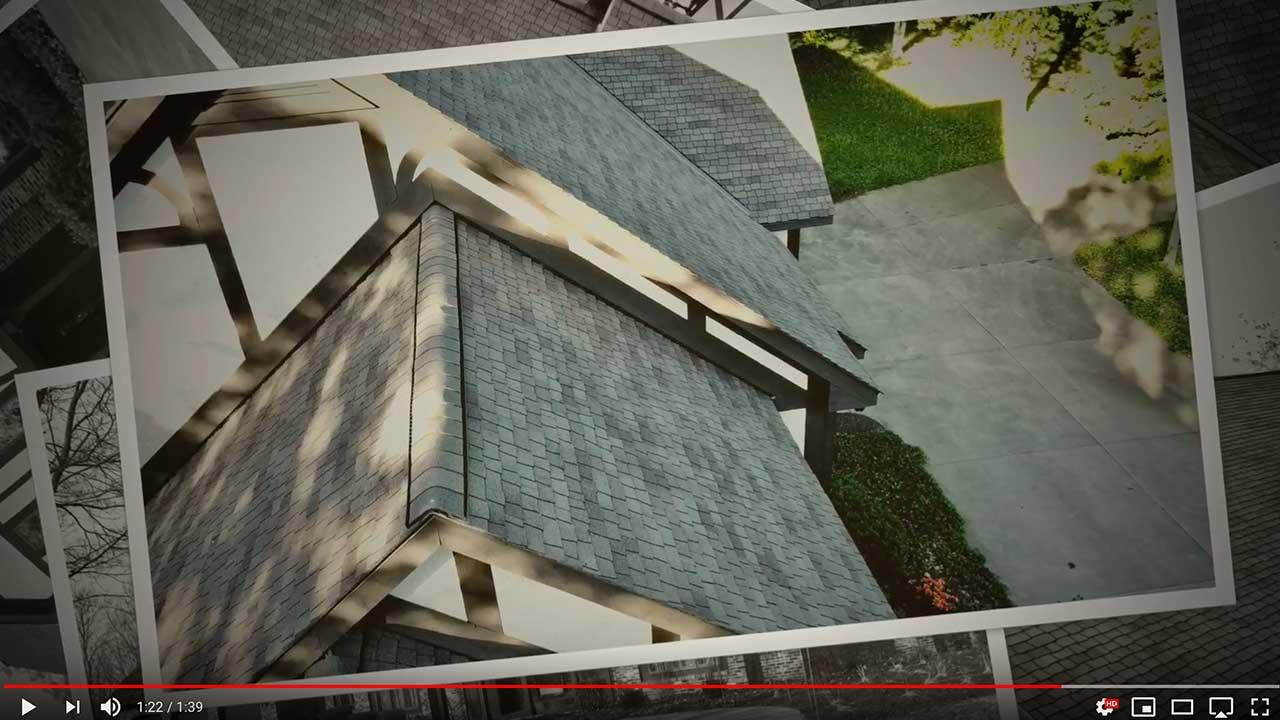 Dachy pokryte gontem GAF Sienna®