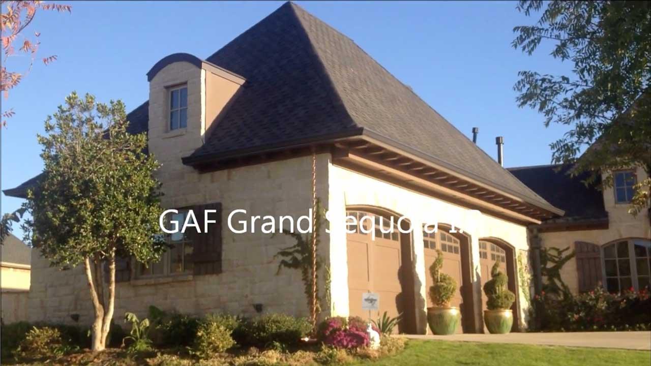 Dachy pokryte gontem GAF Grand Sequoia®