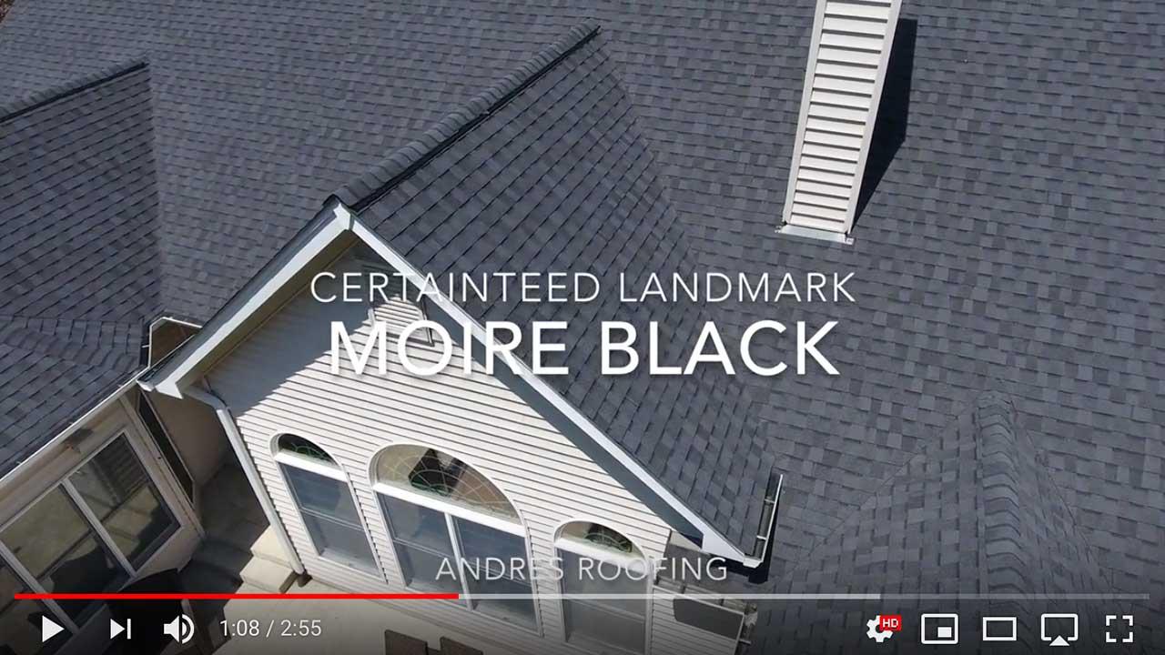 Dachy pokryte gontem CertainTeed z linii Landmark™