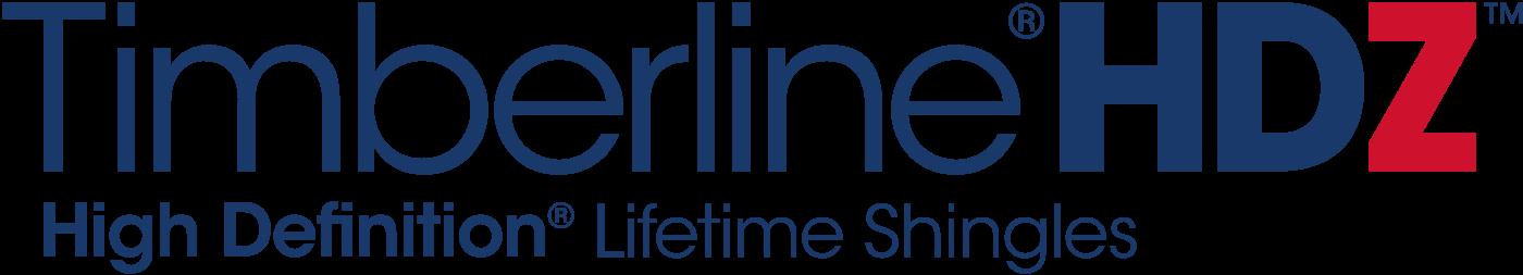 Logotyp gontu bitumicznego amerykańskiego producenta GAF model Timberline HDZ