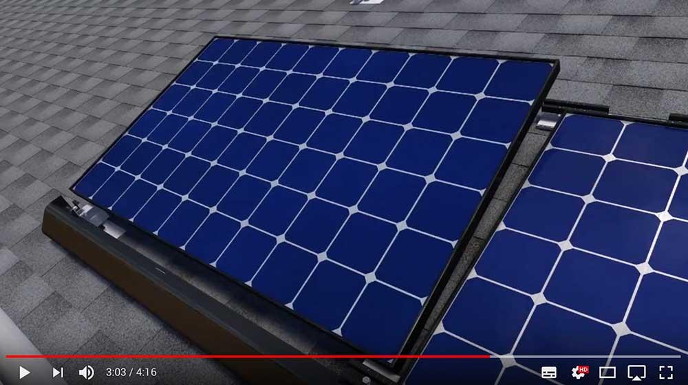 Film - montaż paneli fotowoltaicznych, solarów, stojaków i rusztowań