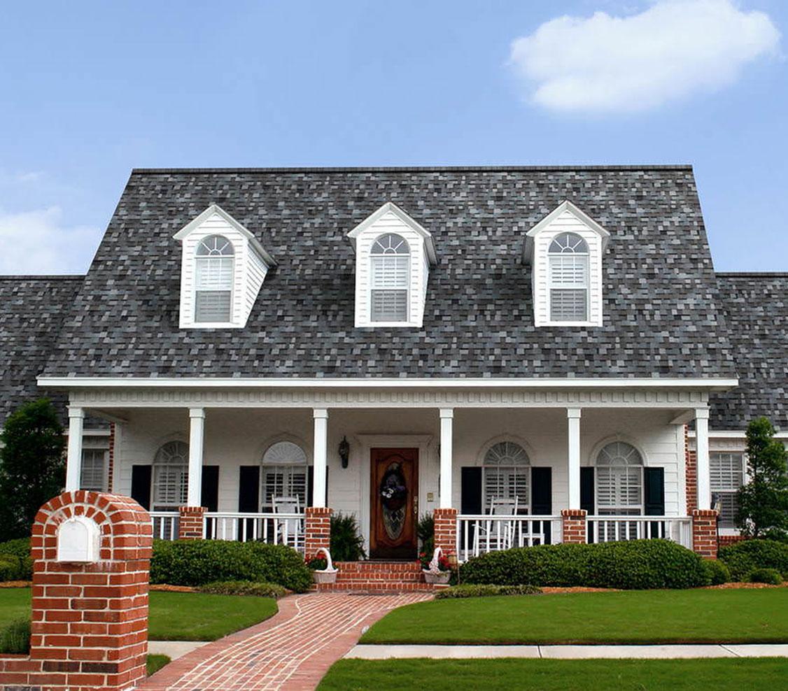 amerykański gont Owens Corning TruDefinition Duration, pokrycia dachowe, timberline hd w kolorze pewter gray