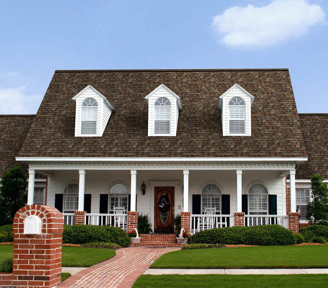 amerykański gont gaf, pokrycia dachowe, timberline hd w kolorze fox hollow gray