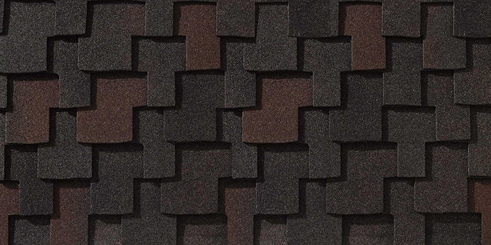 Zdjęcie produktu jakim jest gont bitumiczny amerykańskiej firmy GAF z linii Grand Canyone, pokrycia dachowe